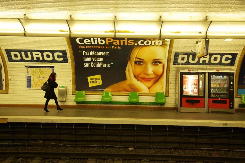Metro Duroc in Paris